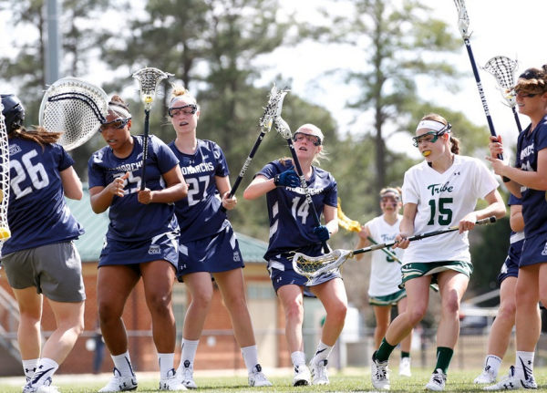 Lacrosse: Tribe defeats Old Dominion 17-14 to get back to .500