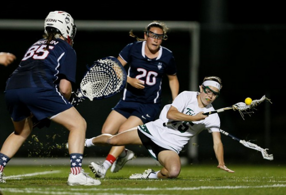 Lacrosse: Tribe falls to UConn 13-6
