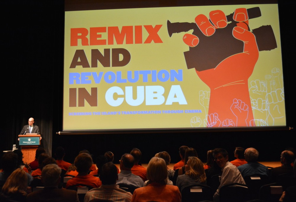 Tack Faculty Lecture discusses Revolutionary Cinema in Cuba