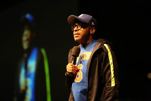 Spike Lee, director and political activist, talks race in Kaplan Arena