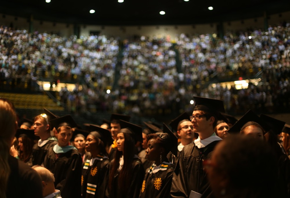 Graduates urged to be bold at 2016 Commencement ceremony