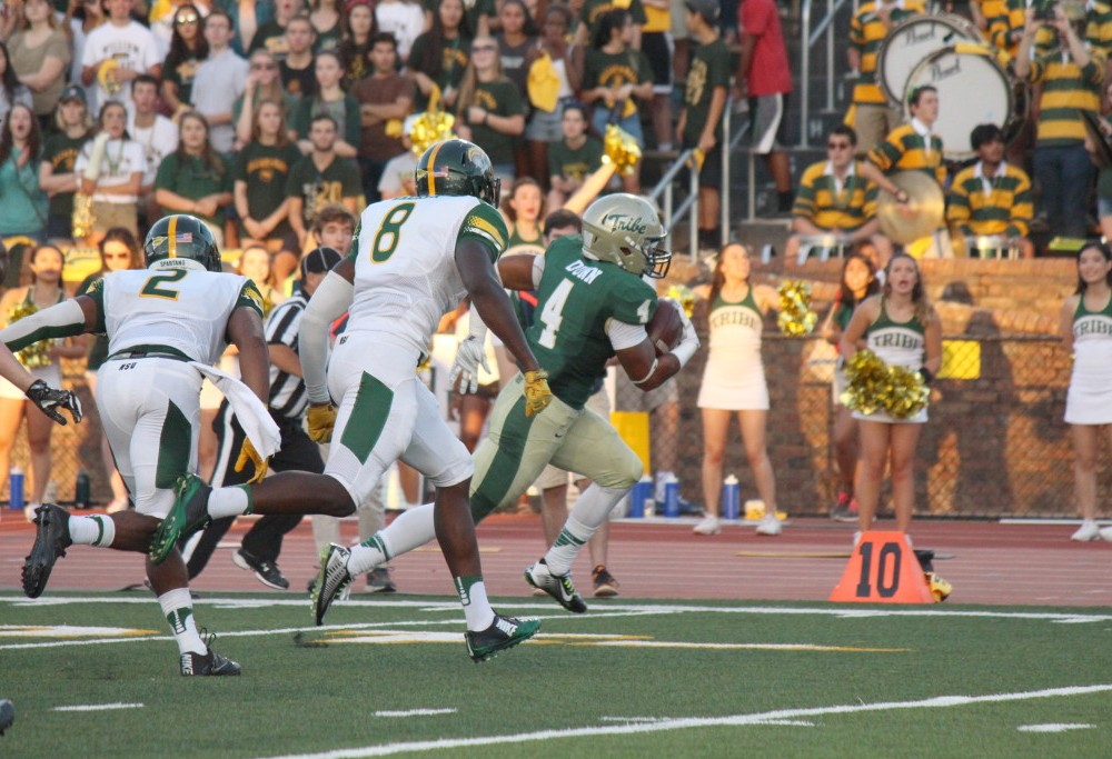Football: College defeats Norfolk State 35-10 in debut of renovated Zable Stadium