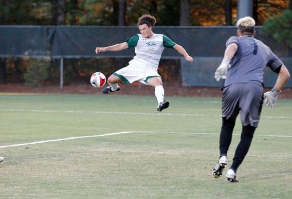 Men's Soccer: Youth leads Tribe past No. 21 Coastal Carolina