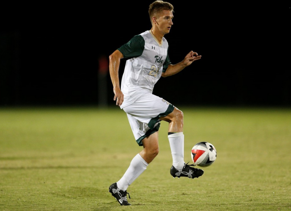 Men's Soccer: Tribe turns man advantage into two goal win over Liberty