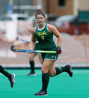 Field Hockey: Tribe shows promise, splits weekend against Georgetown and Old Dominion