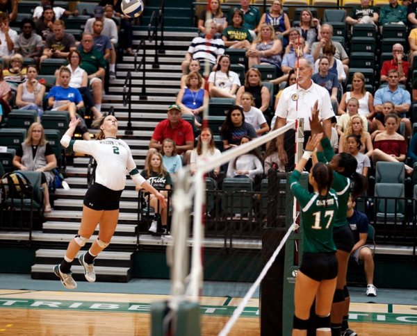 Volleyball: Non-conference schedule ends with loss vs VCU, 2-1 split at Gamecock Invitational