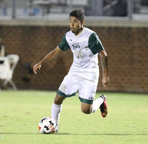 Men's soccer: Tribe overcomes slow start, own goal to tie UNCW
