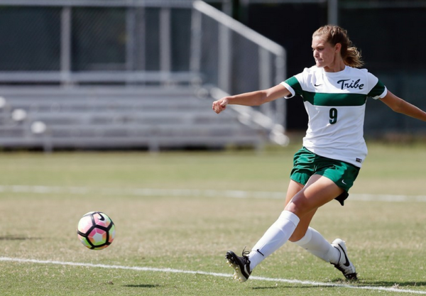 Women's soccer: Tribe dominates James Madison, falls to Towson