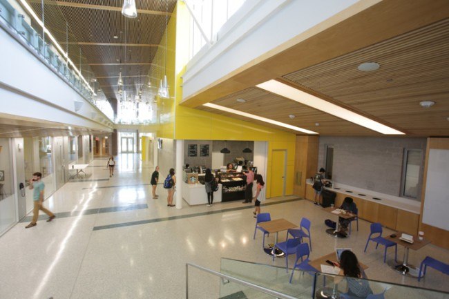 College announces new engineering, design initiative during BOV meeting