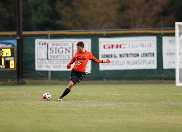 Men's soccer: Tribe falls at No. 16 Virginia in road finale