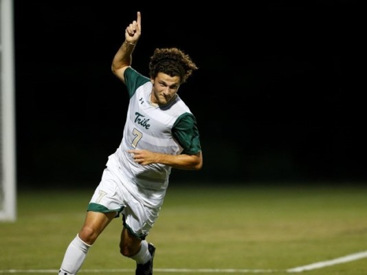 Men's soccer: Weekend win over Charleston keeps postseason hopes alive