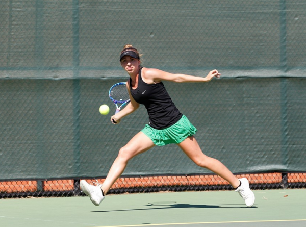 Women's tennis: Tribe shows strong performances at Cissie Leary Invitational