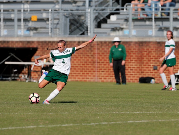 Women's Soccer: Tribe moves on to CAA Semis with dramatic shootout win