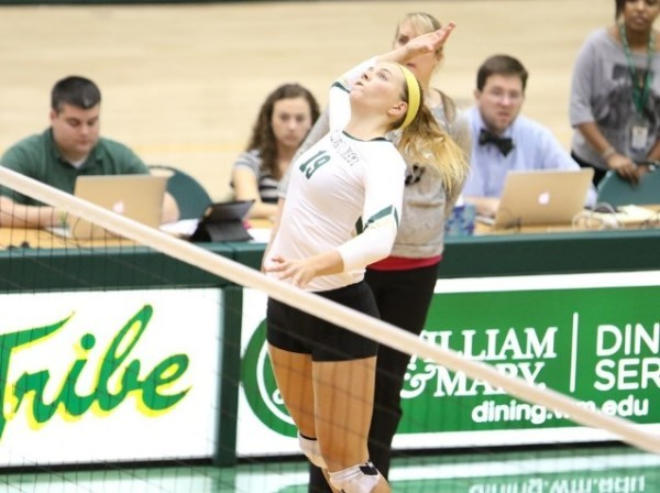 Volleyball: Tribe notches first CAA wins of 2016 at home