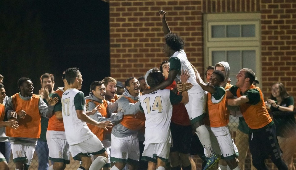 Men's soccer: Tribe dominate Northeastern 7-1 as Bustamante nets hat trick