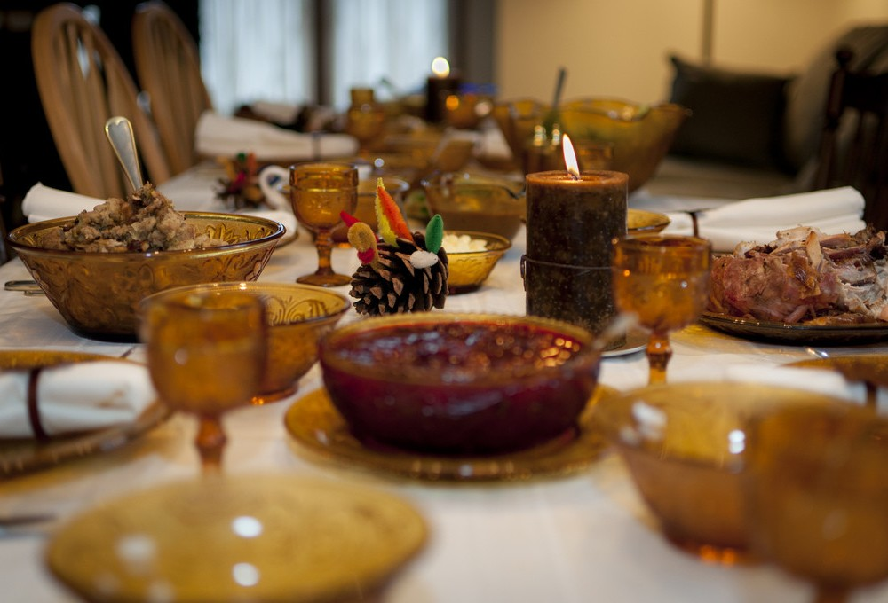 Confusion Corner: Being thankful for the food, relaxation and your nosy relatives?