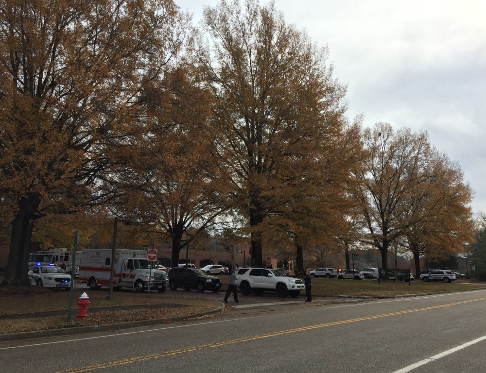 Fire department evacuates  Marshall-Wythe School of Law after fire