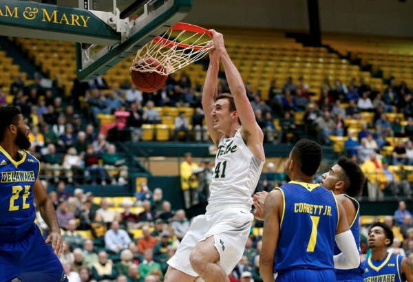 Men's basketball: Tribe starts salvaging season with 82-58 win over Delaware
