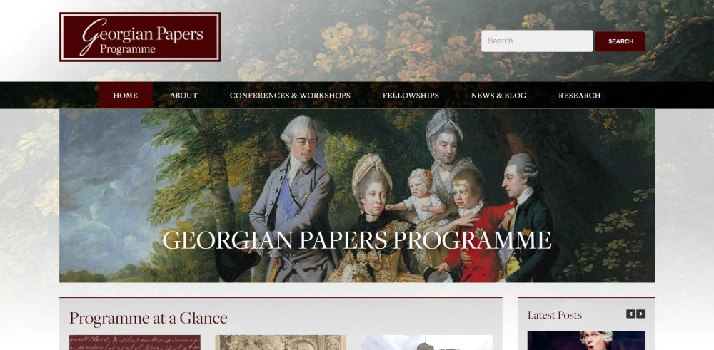Digitizing the Revolution: College releases Georgian Papers Programme in partnership with Windsor Castle