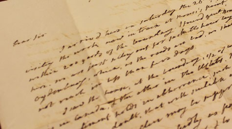 Muscarelle to display collection of James Monroe's letters