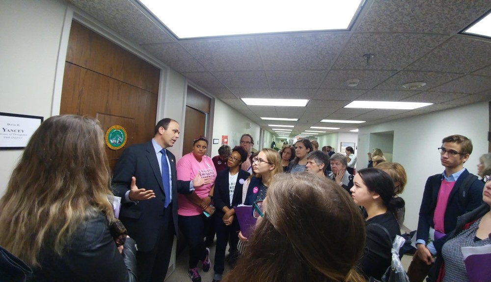 VOX sends representatives to Women's Equality Coalition Lobby in Richmond
