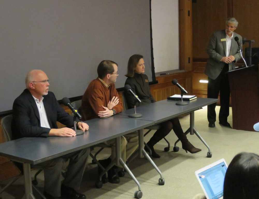 Nonprofit Organization panel discusses leadership, microloans