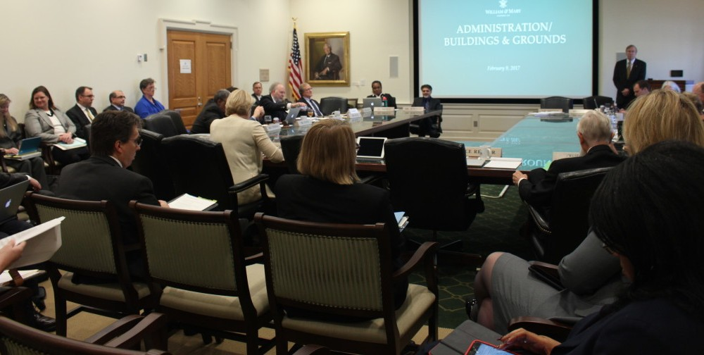 College's Board of Visitors votes to approve 12 resolutions, confirm honorary degrees during February meetings