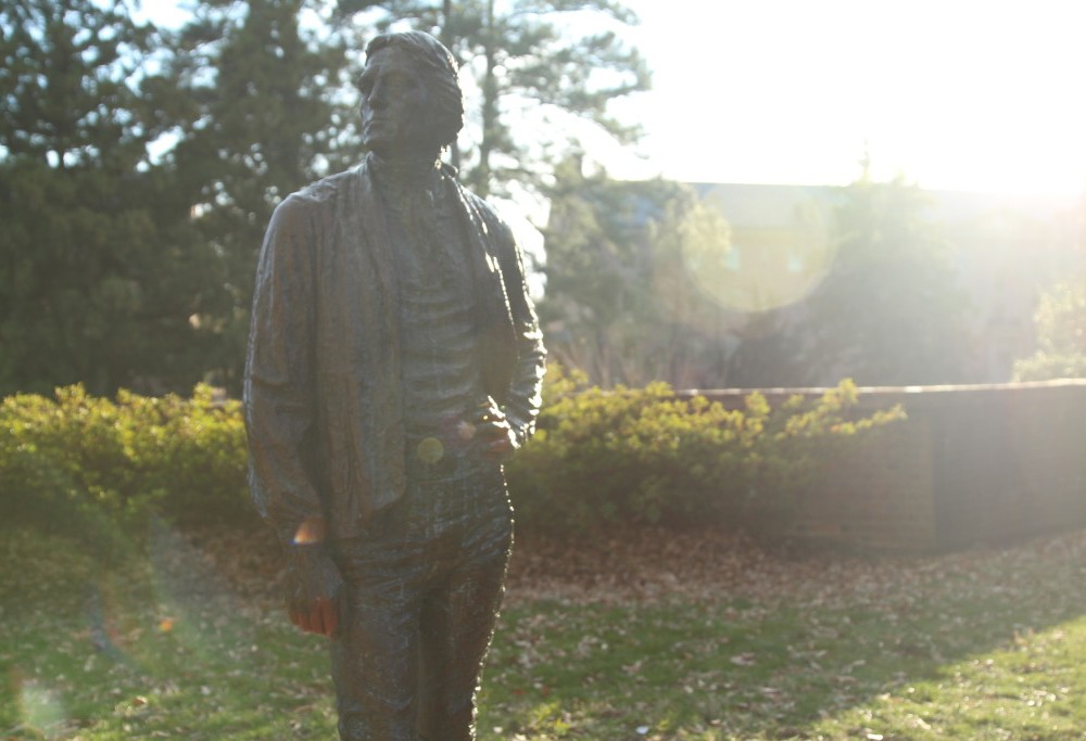 Jefferson statue caught red-handed: College investigates six reports of vandalism that occurred over Charter Day weekend