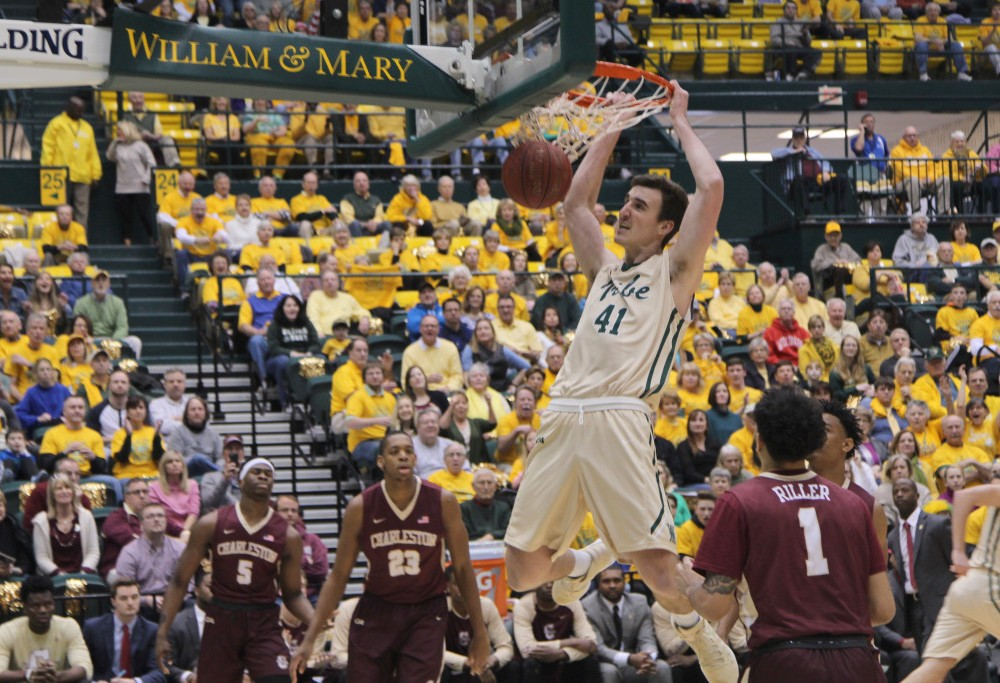 Men's Basketball: Tribe wins annual Gold Rush game against College of Charleston