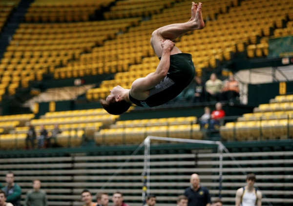 Gymnastics: Tribe men top Springfield in New England Championships