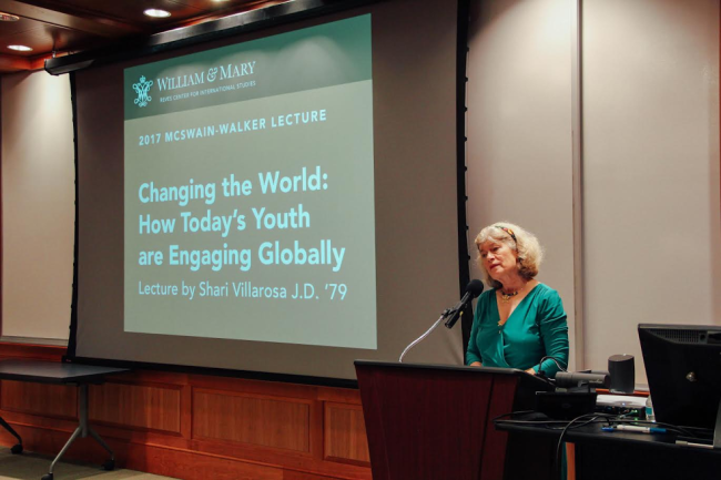 Former U.S. ambassador discusses importance of youth in global world