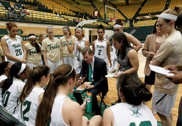 Women's basketball: Tribe beats Delaware, falls to top-seeded Elon in CAA tournament