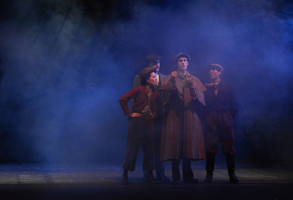 """Baskerville"" Review: A Detective Drama"