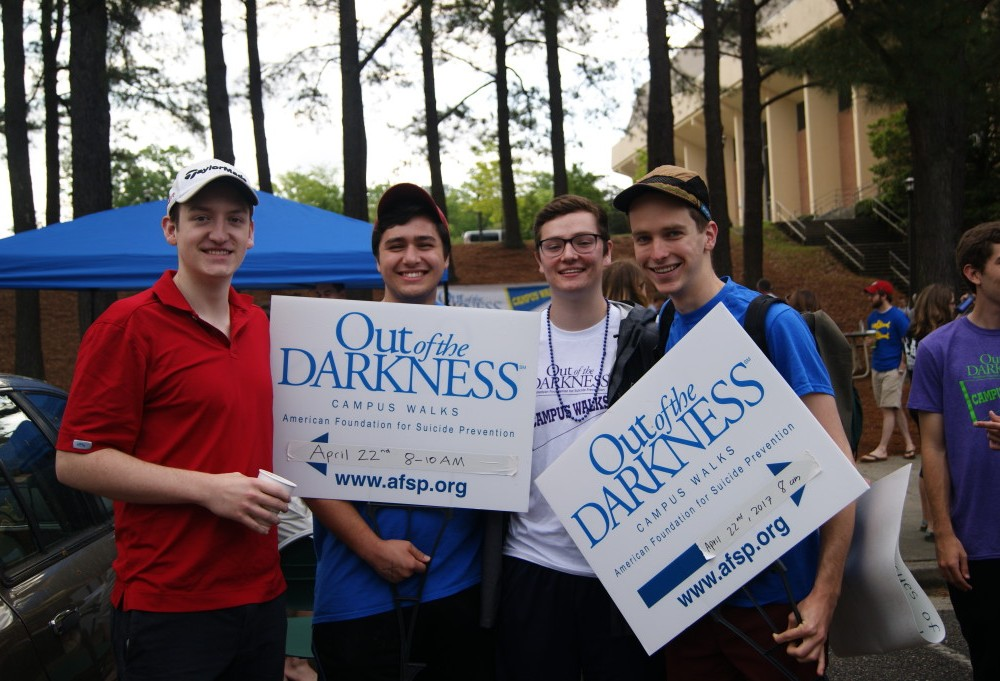 Out of darkness walk aims to raise mental health awareness