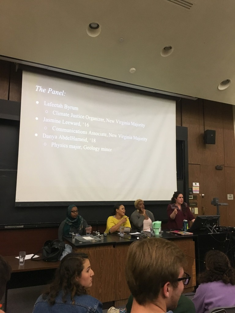 Black Lives Matter lecture discusses environmental racism