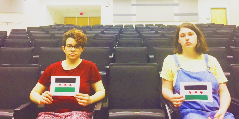 Students rally to save seats: Campaign calls for College to lower barriers for Syrian refugees