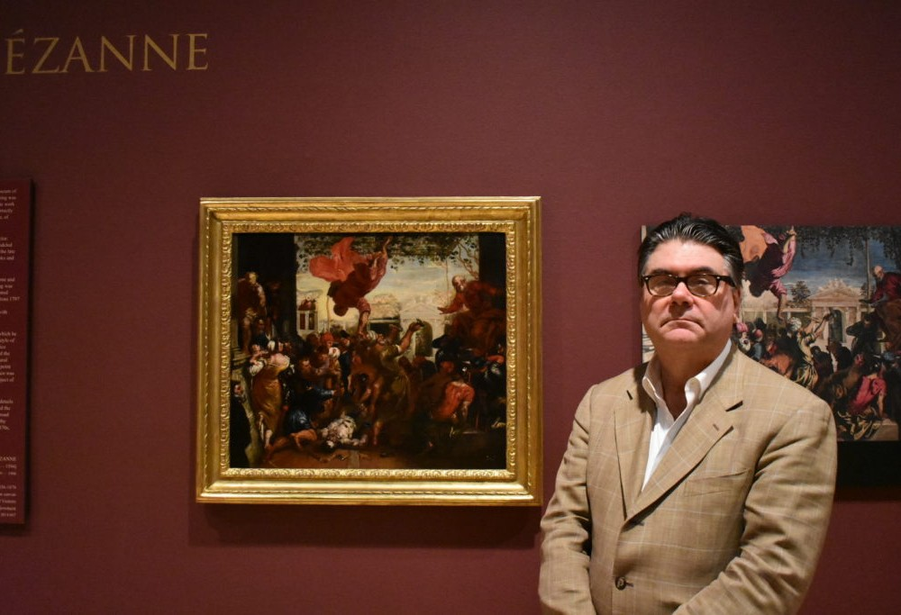 Previously unknown Cezanne painting discovered, displayed at Muscarelle