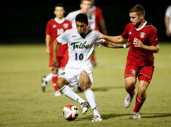 Men's soccer: Tribe drops competitive contest against UNC
