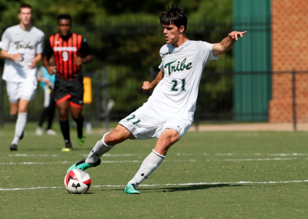 Men's Soccer: Tribe tops Longwood in overtime, falls late against UNCW