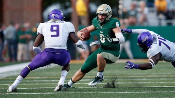Football: Tribe falls to Dukes 46-14