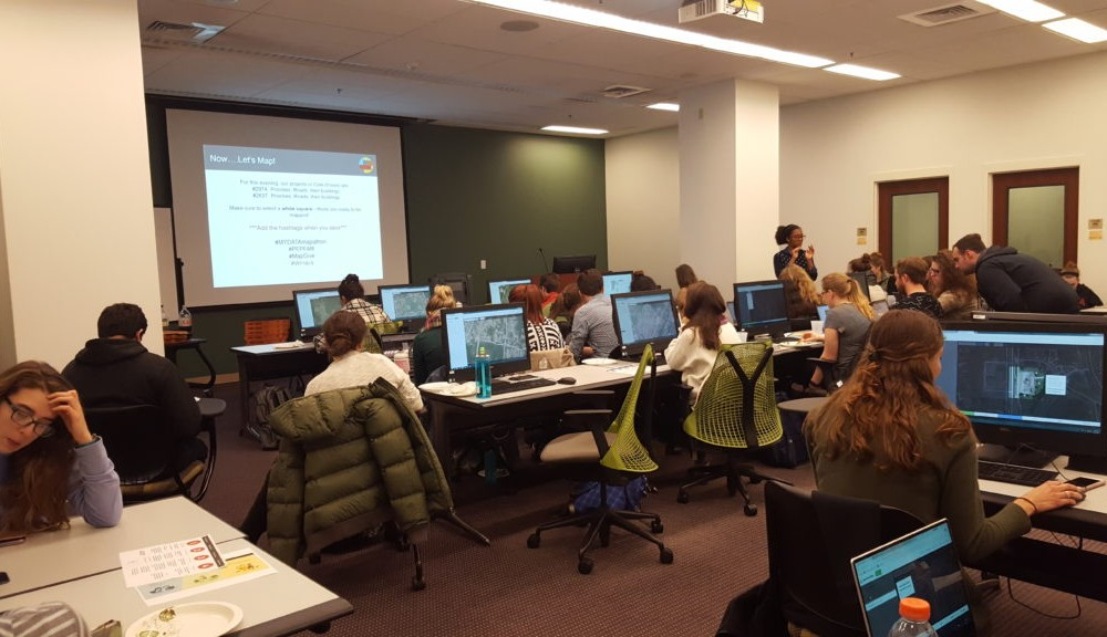 GIS finds its space on campus at the Center for Geospatial Analysis