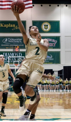 Women's Basketball: Led by Boggs' double-double, the College wins season-opener over Howard