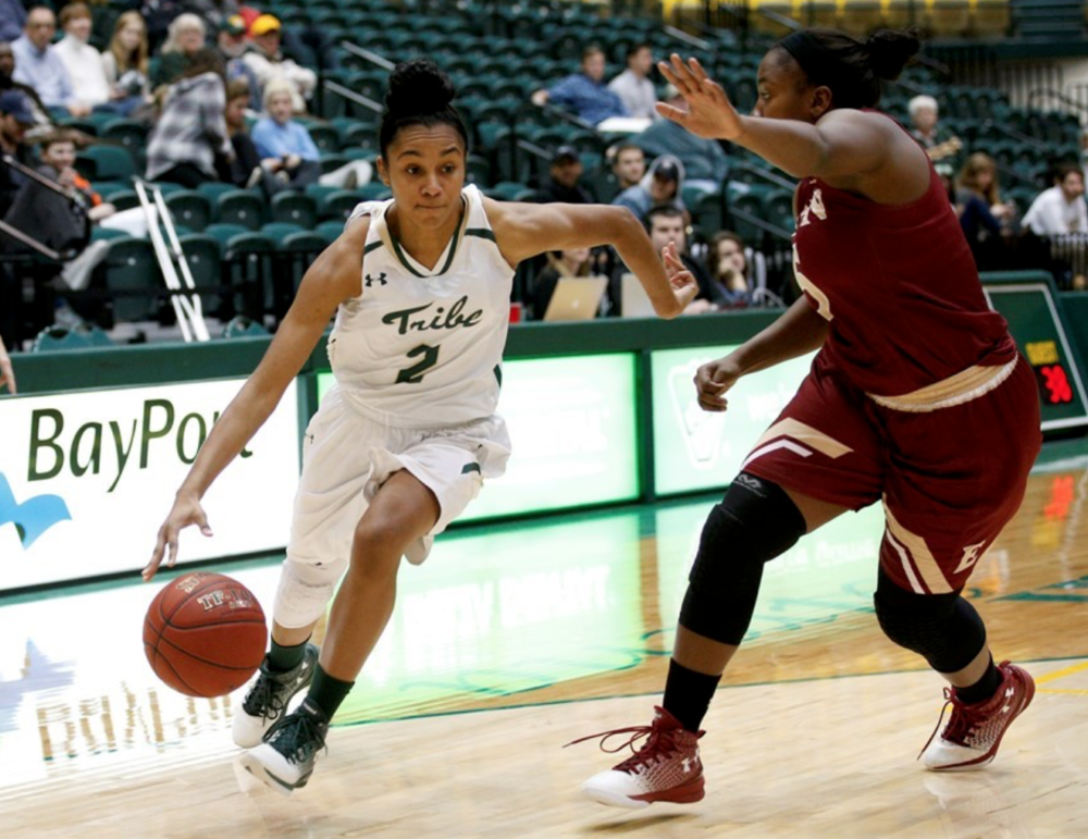 Women's Basketball: Tribe improves to 2-0 after home opener