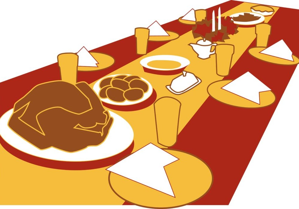Students' small-scale Thanksgiving can be just as enjoyable