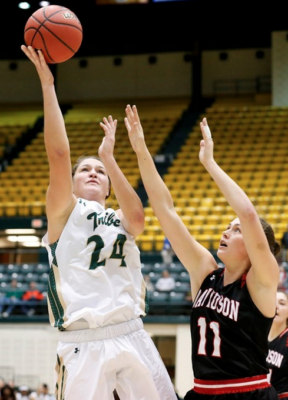 Women's Basketball: Tribe wins trio of games to push winning streak to five