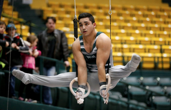 Gymnastics: Tribe Men and Women both place third in their meets last weekend