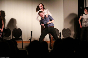"""Courtesy Photo / Stephanie Faucher """"The idea is that you get a little taste of what each group has to offer,"""" Mallory Tucker, president of Improvisational Theater,  said. """"It [also] allows each member of each group to learn how our styles differ and how they come together."""""""