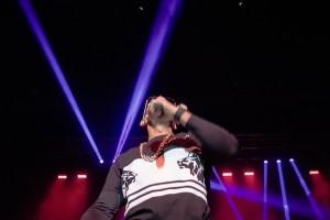 "The rapper performed fan favorites, including ""Money Maker."" NEIL CHHABRA / THE FLAT HAT"