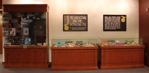 The exhibit is located on the first floor of Swem. COURTESY PHOTO / SWEM SPECIAL COLLECTIONS