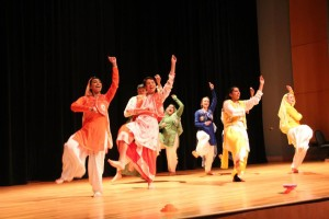 The Bhangra dance team helps students find their niche performing the Punjabi folk dance. COURTESY PHOTO / William and Mary South Asian Student Association